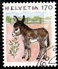 SCHWEIZ SWITZERLAND [1995] MiNr 1566 ( O/used ) Tiere