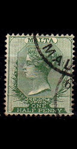 MALTA [1885] MiNr 0004 ( O/used )