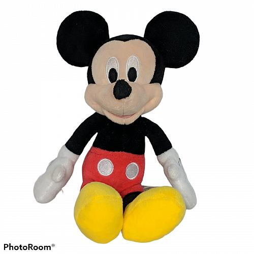 Disney Mickey Mouse Red Shorts Just Play Plush Stuffed Animal 10""