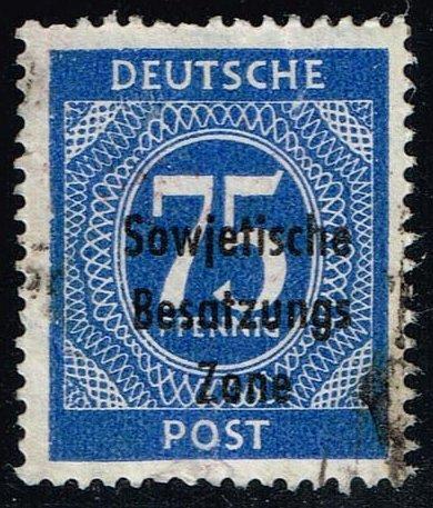Germany #10N20 Numeral; Used (0.80) (1Stars)  DDR10N20-03