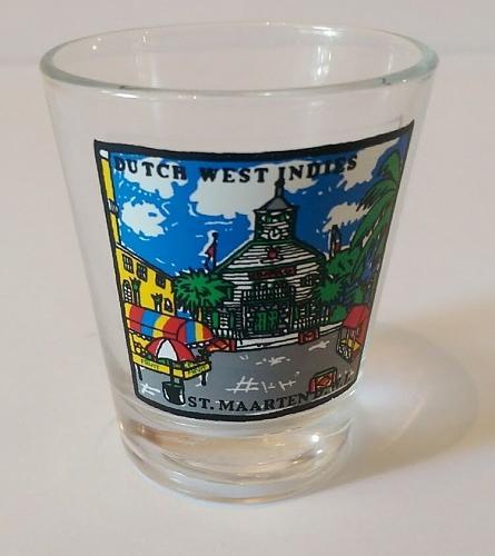 "St. Maarten Dutch West Indies 2.25"" Collectible Shot Glass"
