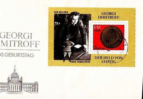 GERMANY DDR [1982] MiNr 2708 Block 68 ( Brief )