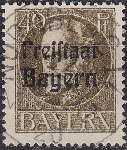 GERMANY Bayern Bavaria [1919] MiNr 0160 A ( O/used ) [01]