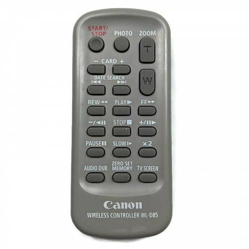 Genuine Canon Camcorder Remote Control WL-D85 Tested Working