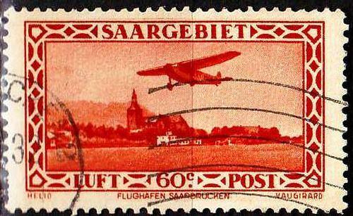 GERMANY Saar [1932] MiNr 0158 ( O/used ) [01]
