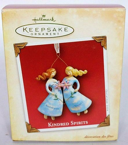 Hallmark Keepsake Christmas Ornament Kindred Spirits Friends Sisters 2004