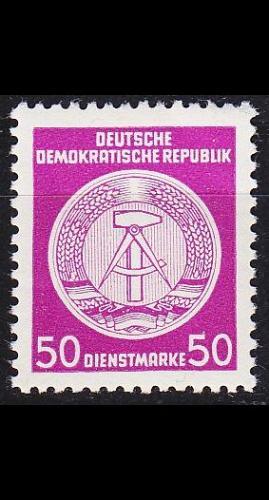 GERMANY DDR [Dienst A] MiNr 0026 I ( **/mnh )