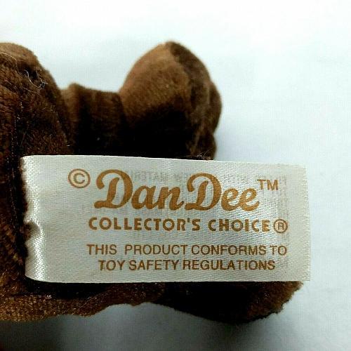"Dan Dee Collector's Choice Brown Monkey Plush Stuffed Animal 5.5"""