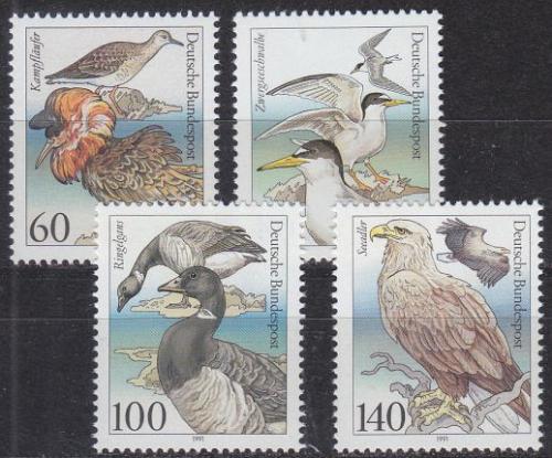 GERMANY BUND [1991] MiNr 1539-42 ( **/mnh ) Vögel