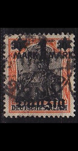 GERMANY REICH Danzig [1920] MiNr 0026 ( OO/used )