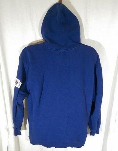 Kansas City Royals 2014 World Series Fall Classic Hoodie Men's Large Blue