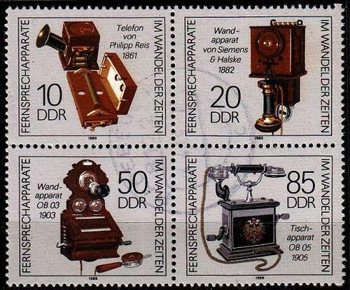 GERMANY DDR [1989] MiNr 3226-29 4er ( OO/used ) [01]