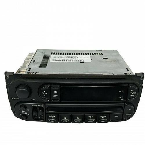 2002-2007 Chrysler Dodge Jeep Radio Stereo AM FM CD Player P05091556AG