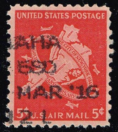 US #C38 New York City; Used (0.25) (2Stars) |USAC038-03