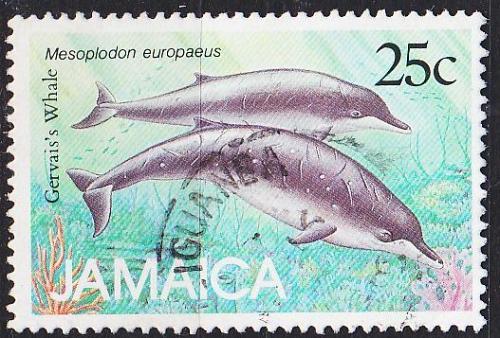 JAMAIKA JAMAICA [1988] MiNr 0692 ( O/used ) Fische