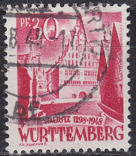 GERMANY Alliiert Franz. Zone [Württemberg] MiNr 0023 y I ( O/used )