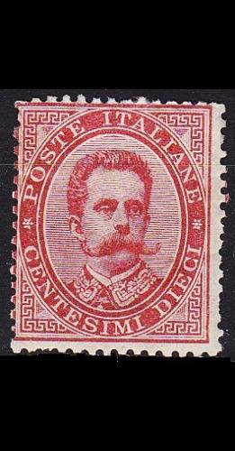 ITALIEN ITALY [1879] MiNr 0038 ( oG/no gum )