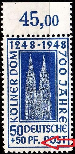 GERMANY Alliiert AmBri [1948] MiNr 0072 ZA_I ( **/mnh )