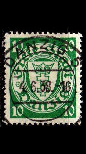 GERMANY REICH Danzig [1937] MiNr 0272 A ( OO/used )