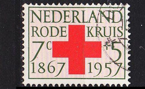 NIEDERLANDE NETHERLANDS [1957] MiNr 0701 ( O/used ) Rotes Kreuz