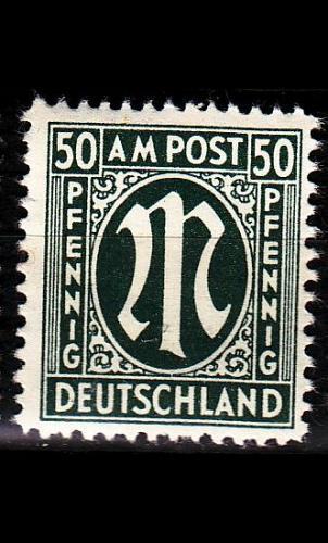 GERMANY Alliiert AmBri [1945] MiNr 0032 b A ( **/mnh )
