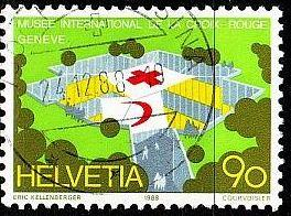 SCHWEIZ SWITZERLAND [1988] MiNr 1379 ( O/used ) Rotes Kreuz
