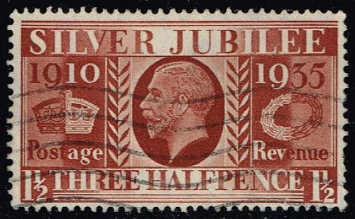 Great Britain #228 Silver Jubilee Issue; Used (0.60) (3Stars) |GBR0228-02XRS