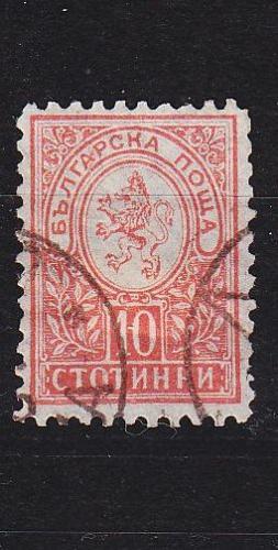 BULGARIEN BULGARIA [1889] MiNr 0032 D ( O/used )