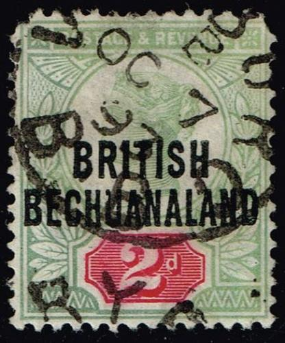Bechuanaland Prot. #34 Queen Victoria; Used (2Stars) |BEC034-01XRP