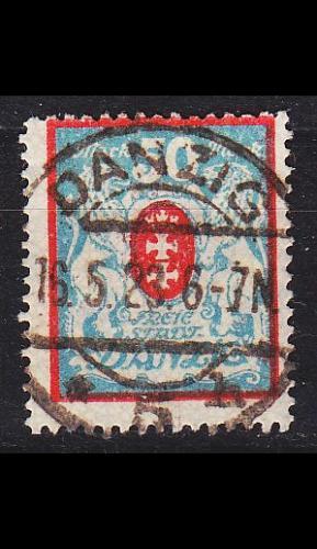 GERMANY REICH Danzig [1922] MiNr 0127 X ( OO/used )