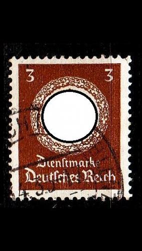 GERMANY REICH Dienst [1934] MiNr 0132 ( O/used )