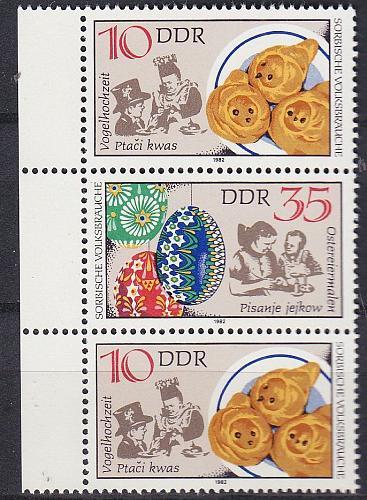 GERMANY DDR [1982] MiNr 2716 SZd249 ( **/mnh ) Trachten