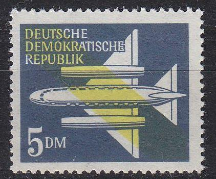 GERMANY DDR [1957] MiNr 0615 ( **/mnh ) Flugzeuge