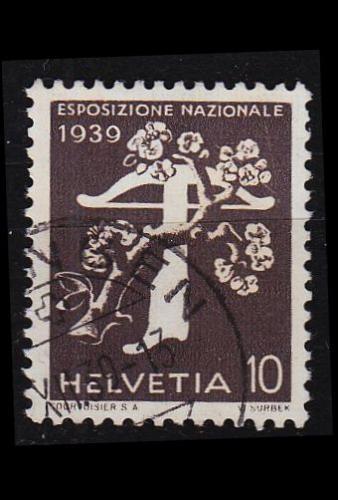 SCHWEIZ SWITZERLAND [1939] MiNr 0353 z ( O/used )