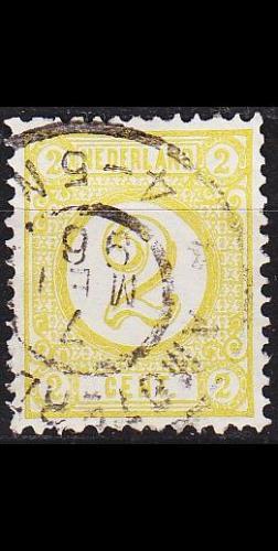 NIEDERLANDE NETHERLANDS [1894] MiNr 0032 b ( O/used )