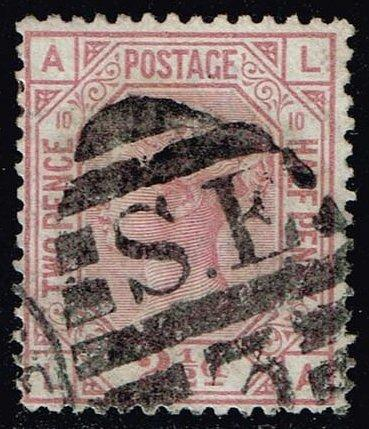 Great Britain #67 Queen Victoria; Used (75.00) (1Stars) |GBR0067p10-01XVA