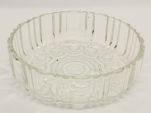 """Cut Glass Crystal Clear Nut Candy Relish Desert Bowl Dish 6"""" dis. 2"""" Tall NICE"""