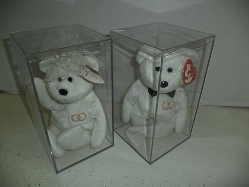 2001 Bride & Groom Ty Beanie Babies