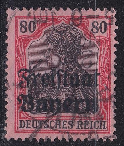 GERMANY Bayern Bavaria [1919] MiNr 0147 ( O/used )