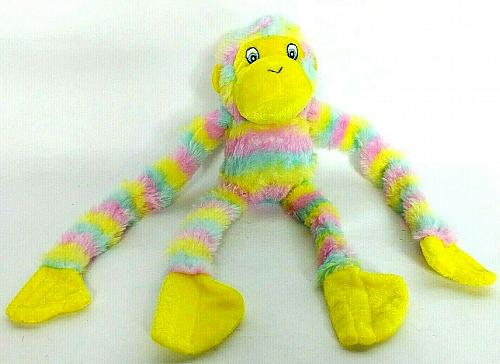 National Prize & Toys Multi-Color Monkey Ape Plush 12.5""