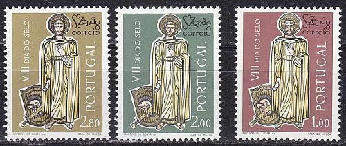 PORTUGAL [1962] MiNr 0930-32 ( **/mnh ) Religion