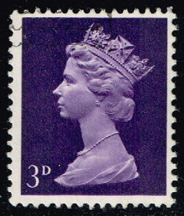 Great Britain #MH5 Machin Head; Used (0.25) (3Stars)  GBRMH005-03XBC