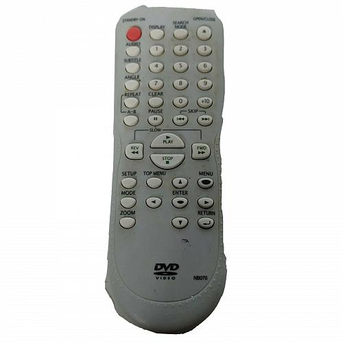 Genuine Magnavox DVD Remote Control NB070 Tested Works