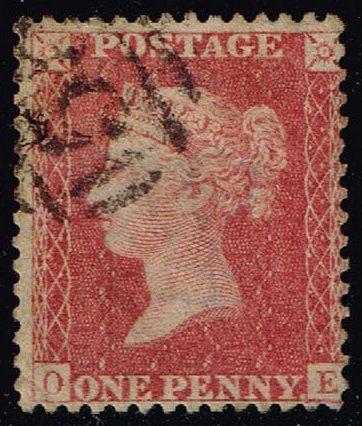 Great Britain #20 Queen Victoria; Used (11.50) (3Stars) |GBR0020-02XVA