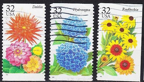 USA [1995] MiNr 2637 ex ( O/used ) [01] Blumen