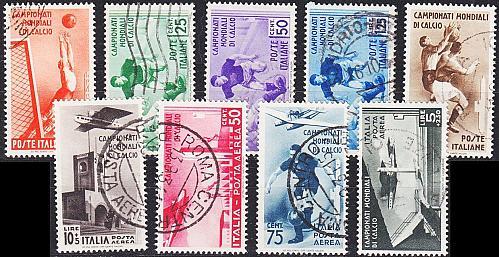 ITALIEN ITALY [1934] MiNr 0479-87 ( O/used )
