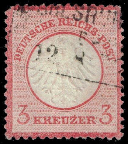 Germany #9 Imperial Eagle; Used (2Stars)  DEU0009-01XRP