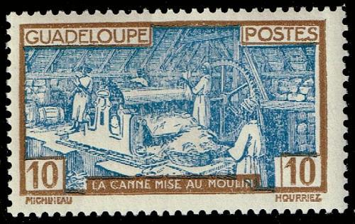 Guadeloupe **U-Pick** Stamp Stop Box #146 Item 84  USS146-84