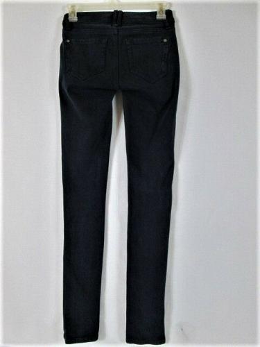 GENETIC DENIM womens W24 L31 blue denim THE TWIG SKINNY leg STRETCH jeans (N)