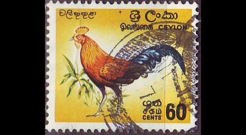 CEYLON SRI LANKA [1966] MiNr 0342 ( O/used ) Vögel
